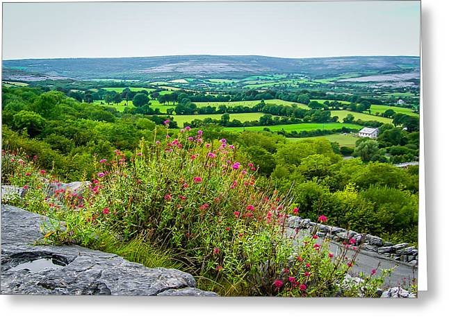 Burren National Park's Lovely Vistas Greeting Card