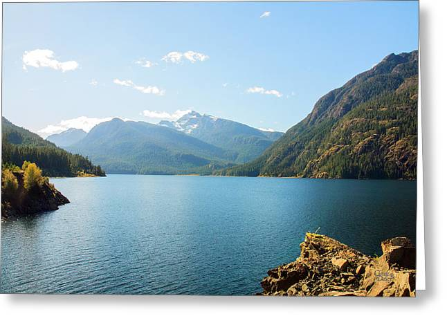 Buttle Lake 01 Greeting Card