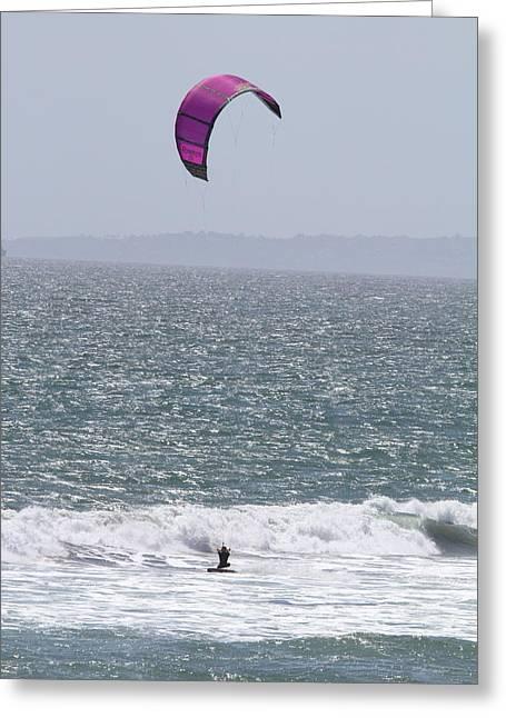 Ca Beach - 12124 Greeting Card