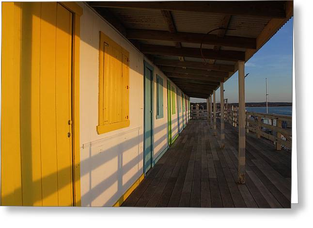 Cabana's West Meadow Beach New York Greeting Card