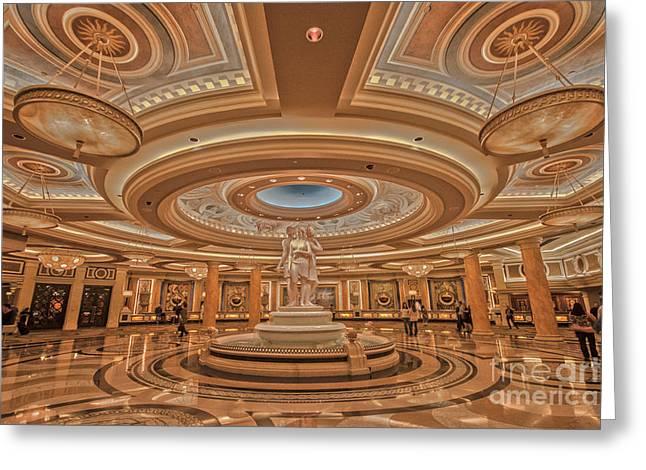 Caesars Palace Las Vegas Greeting Card