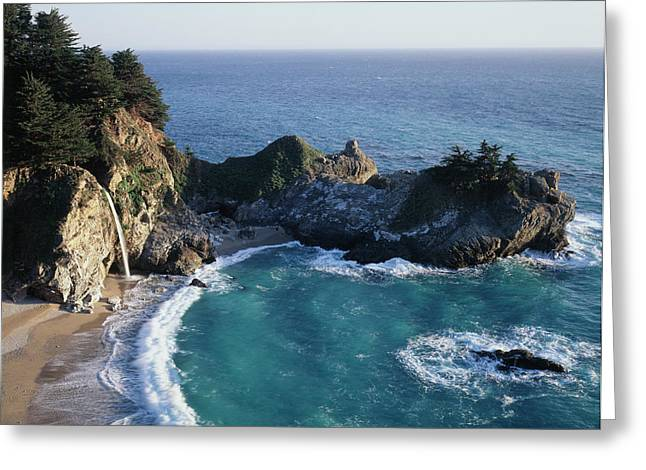 California, Big Sur Coast, Central Greeting Card