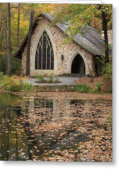Callaway Gardens Chapel-pine Mountain Georgia Greeting Card by Mountains to the Sea Photo