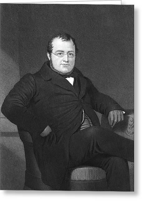 Camillo Benso Cavour (1810-1861) Greeting Card by Granger