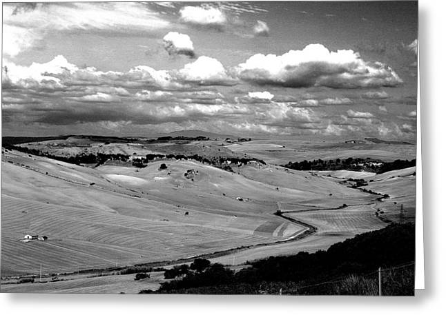 Country Of Tarquinia Greeting Card