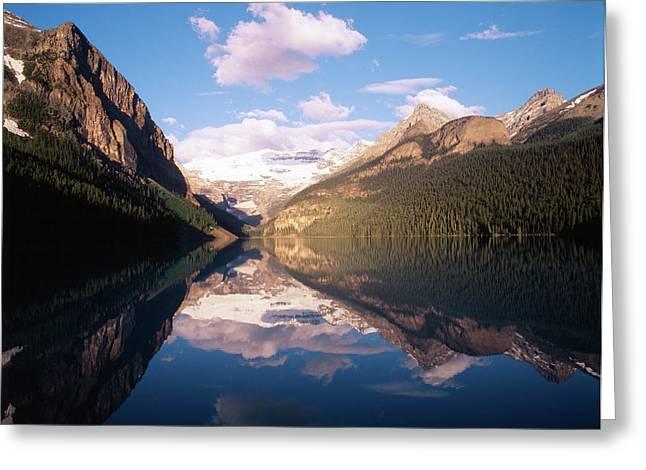 Canada, Alberta, Banff National Park Greeting Card by Adam Jones