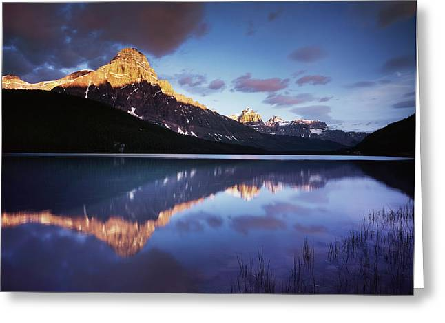 Canada, Alberta, Banff National Park Greeting Card