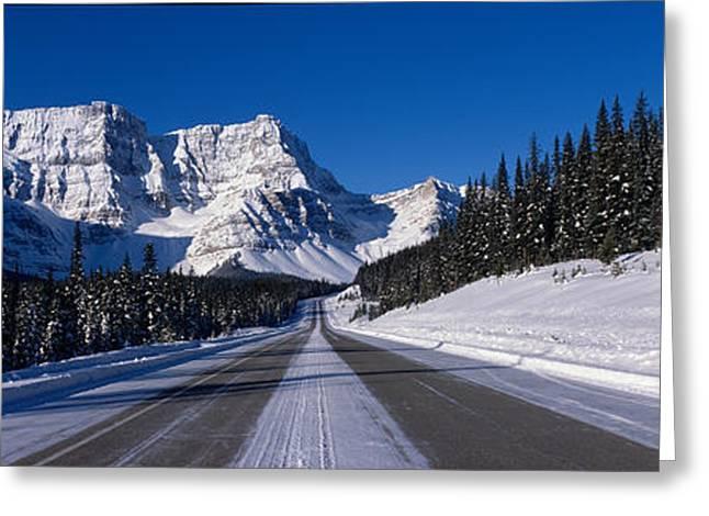 Canada, Alberta, Banff National Park Greeting Card by Panoramic Images