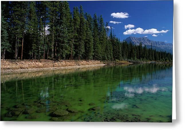 Canada, Alberta, Canadian Rockies Greeting Card by Jaynes Gallery