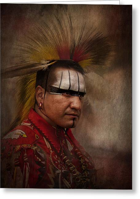 Canadian Aboriginal Man Greeting Card
