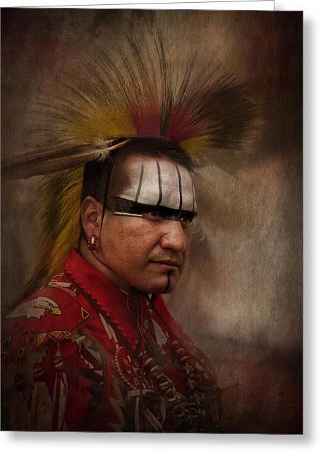 Canadian Aboriginal Man Greeting Card