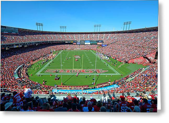 Candlestick Park Greeting Card