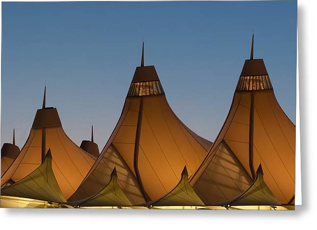Canopies At Dusk Greeting Card by Brian  Weiss