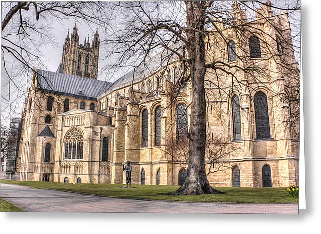 Canterbury Cathedral Greeting Card