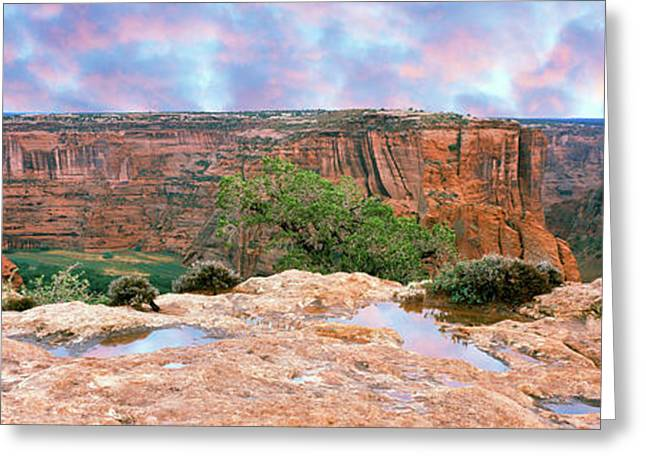 Canyon De Chelly National Monument Greeting Card by Panoramic Images