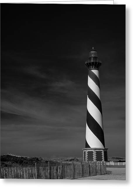 Cape Hatteras Lighthouse Greeting Card by Mountain Dreams