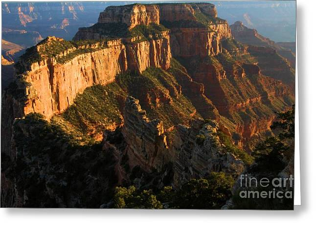 Cape Royal Glow Greeting Card by Adam Jewell