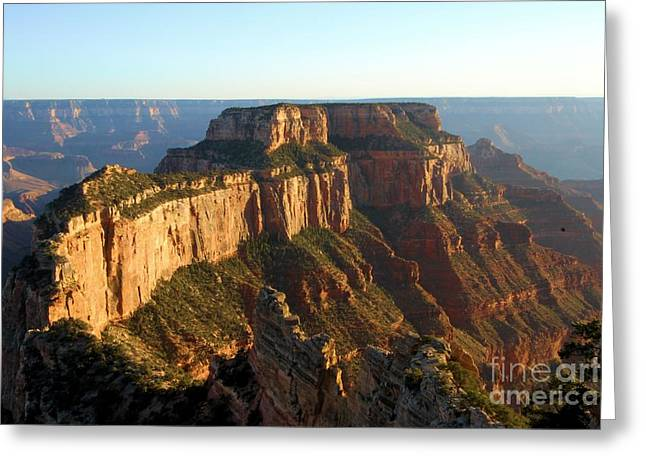 Cape Royal Sunset Greeting Card by Adam Jewell