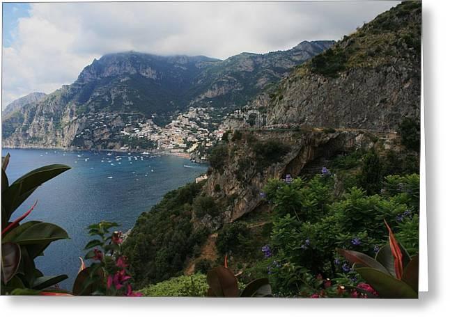 Capri Island Italy Greeting Card