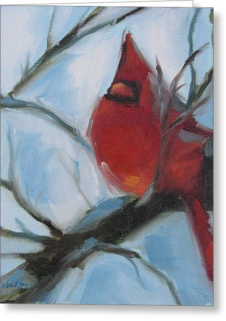 Cardinal Composed Greeting Card