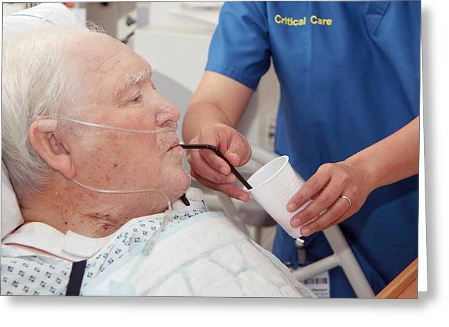 Cardiology Intensive Care Unit Greeting Card