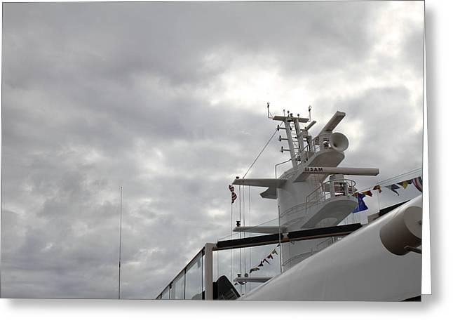 Caribbean Cruise - On Board Ship - 121231 Greeting Card