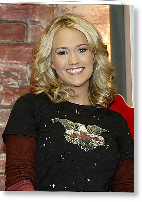 Carrie Underwood Greeting Card