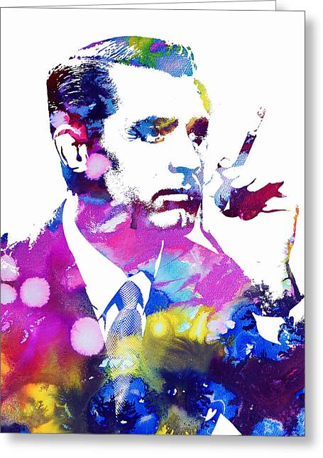 Cary Grant Greeting Card by Doc Braham