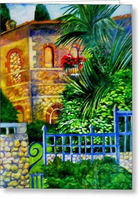 'casa At Radda' Greeting Card