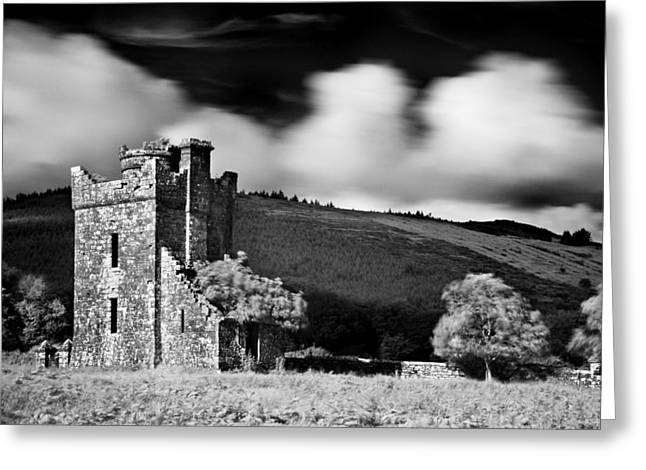 Castle Ruins / Ireland Greeting Card