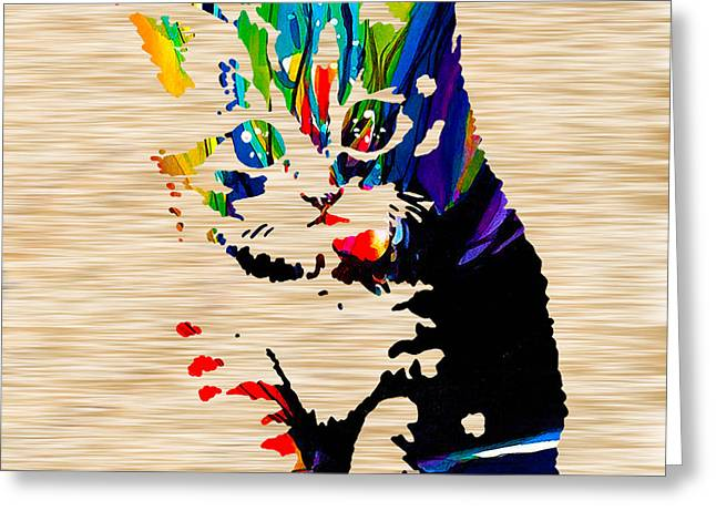 Cat Kitten Greeting Card