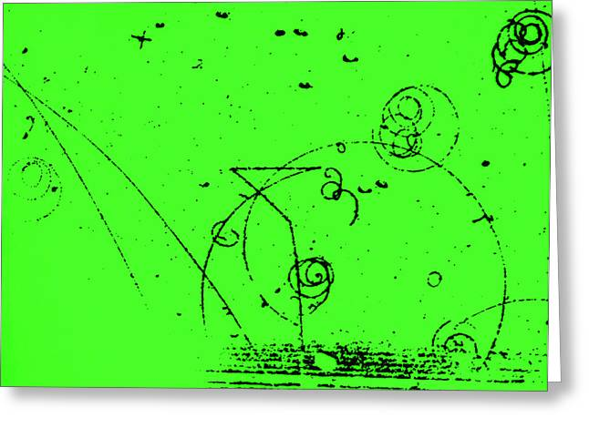 Catalyzed Nuclear Reaction In Bubble Greeting Card