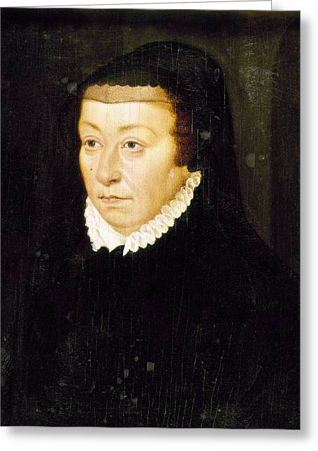 Catherine De Medici (1519-1589) Greeting Card by Granger