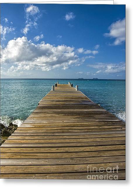 Cayman Island Tropical Paradise Greeting Card