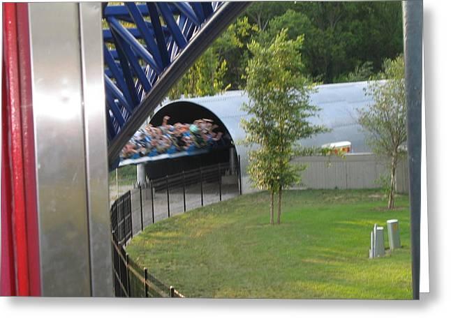 Cedar Point - Millennium Force - 12122 Greeting Card by DC Photographer