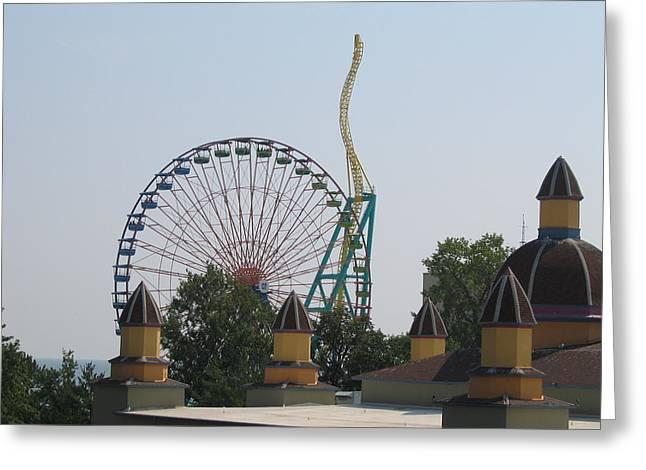 Cedar Point - Wicked Twister - 12121 Greeting Card
