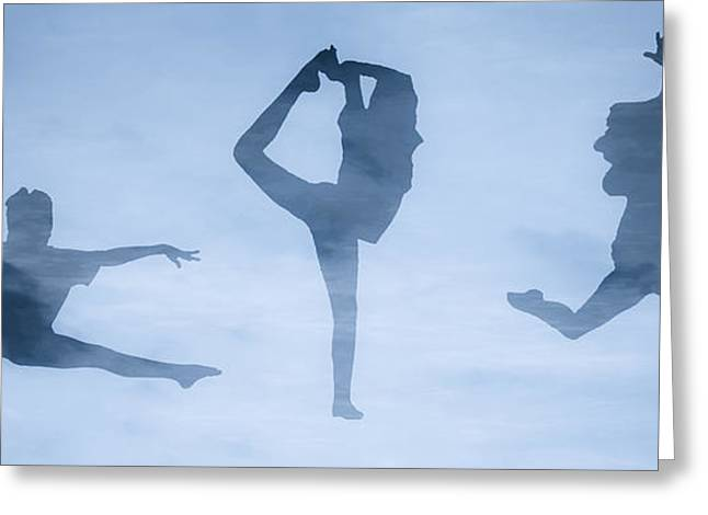 Celebration Of Dance Greeting Card by Randy Steele