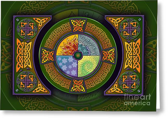 Celtic Elements Greeting Card