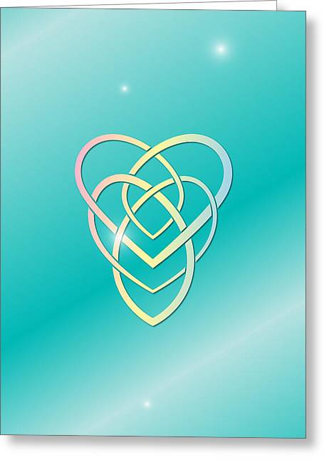 Celtic Motherhood Knot Greeting Card by Ireland Calling