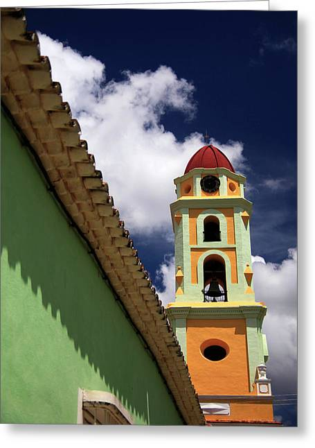 Central America, Cuba, Trinidad Greeting Card