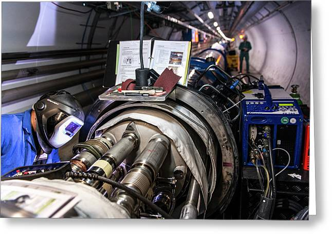 Cern Upgrade Greeting Card by Cern