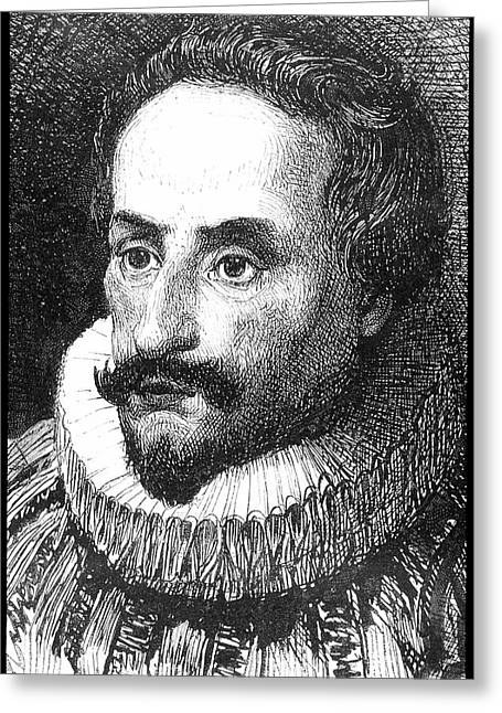 Cervantes Greeting Card by Collection Abecasis
