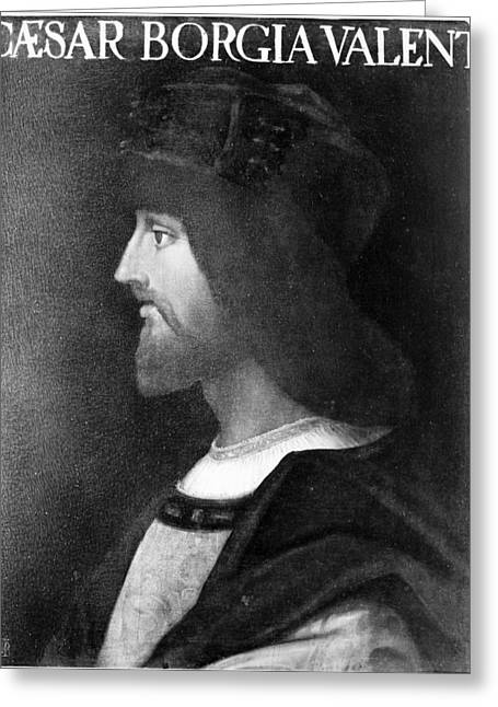 Cesare Borgia (c1475-1507) Greeting Card