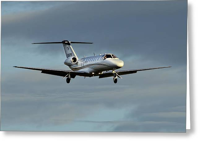 Cessna Citation 525b Greeting Card