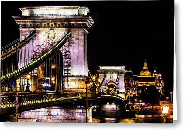 Chain Bridge, St Greeting Card