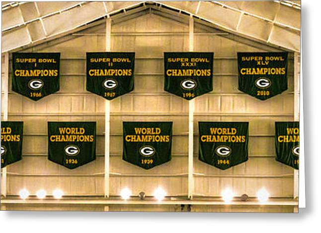 Championship Banners Greeting Card