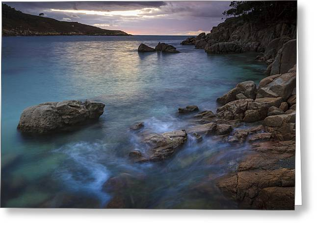 Greeting Card featuring the photograph Chanteiro Beach Galicia Spain by Pablo Avanzini