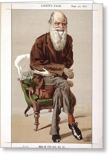 Charles Darwin Greeting Card by British Library