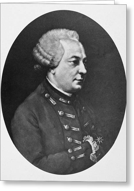 Charles D'eon De Beaumont (1728-1810) Greeting Card by Granger