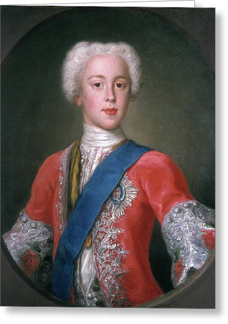 Charles Edward Stuart (1720-1788) Greeting Card